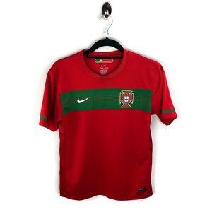 Nike DriFit Portugal Soccer Jersey XL Youth